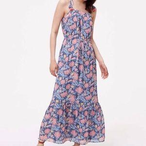 NWT Loft floral spaghetti strap dress